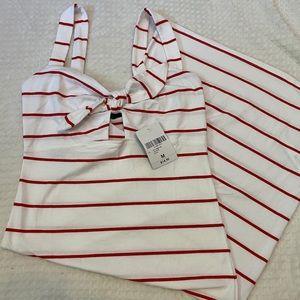 Striped F21 Maxi Dress